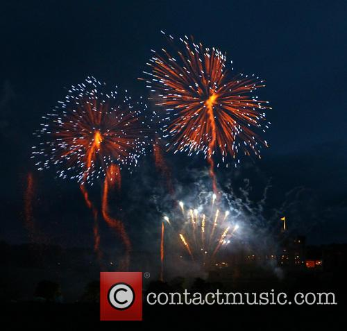 Alnwick Castle fireworks