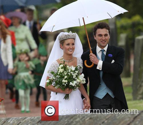 Lady Melissa Percy and Thomas van Straubenzee 12