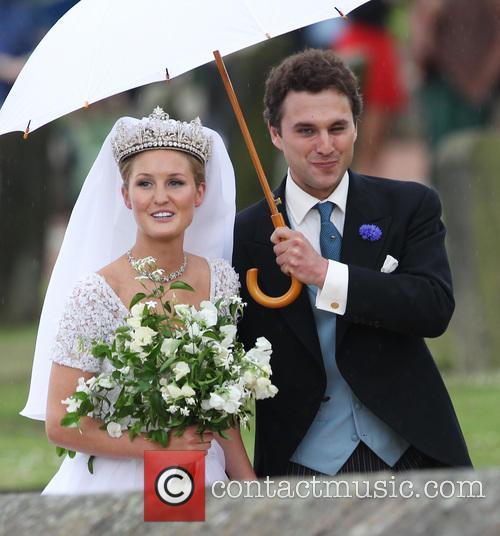 Lady Melissa Percy and Thomas van Straubenzee 13