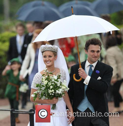Lady Melissa Percy and Thomas van Straubenzee 14