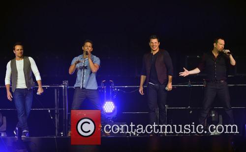 Drew Lachey, Jeff Timmons, Nick Lachey, Justin Jeffre and 98 Degrees 2