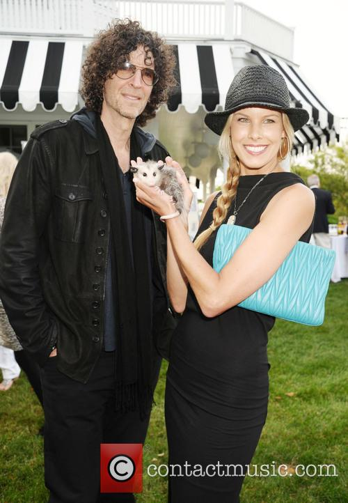 Beth Ostrosky Stern and Howard Stern 2