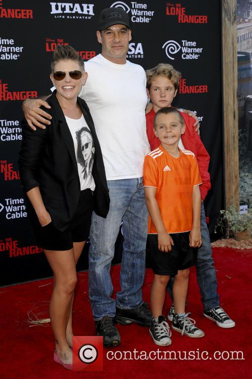 Natalie Maines and Family 2