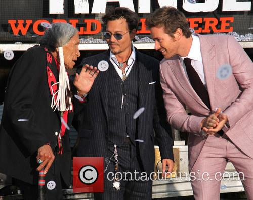 Saginaw Grant, Johnny Depp and Armie Hammer 1