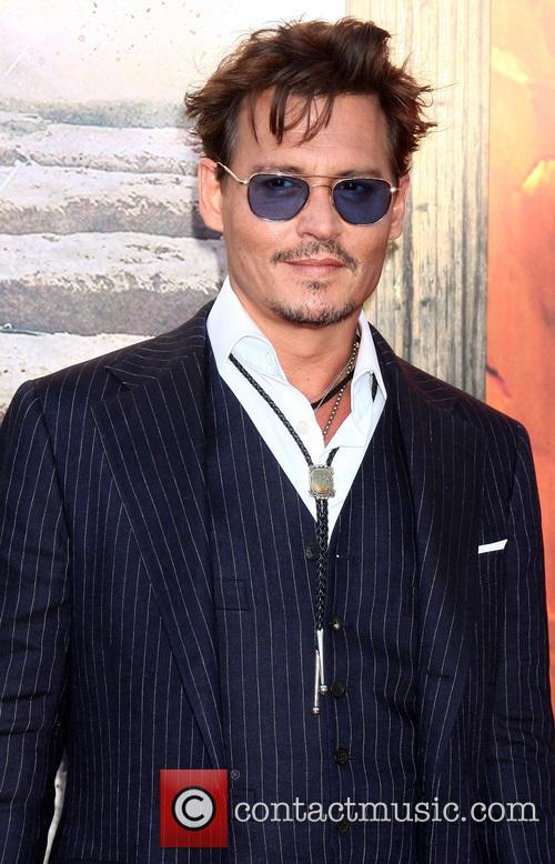 Johnny Depp, The Lone Ranger Premiere