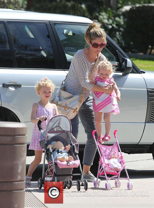 Eric Dane enjoys a day at the park...