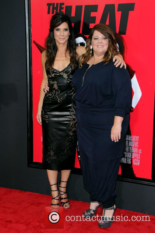 Sandra Bullock and Melissa Mccarthy 3
