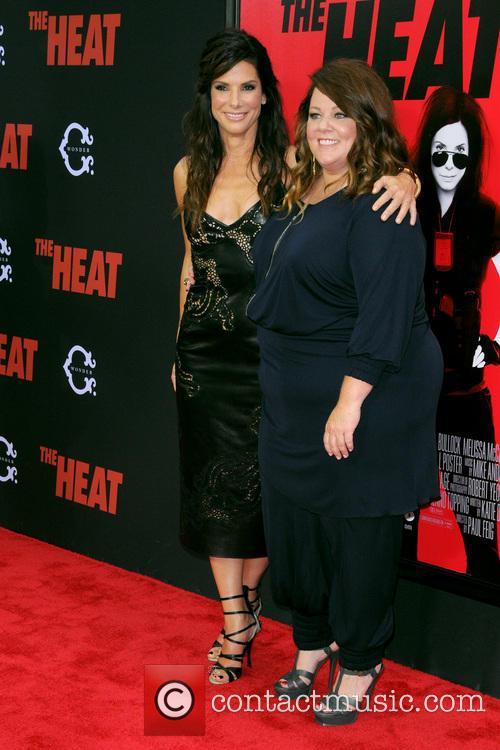 Sandra Bullock and Melissa Mccarthy 8