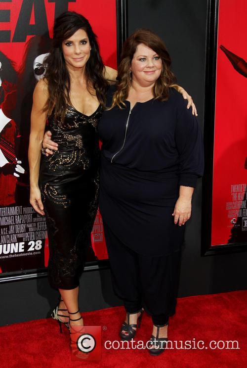 Sandra Bullock and Melissa McCarthy 22