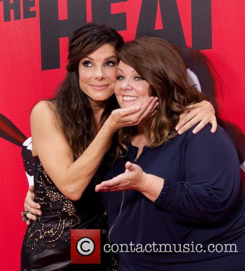 Sandra Bullock and Melissa McCarthy 32