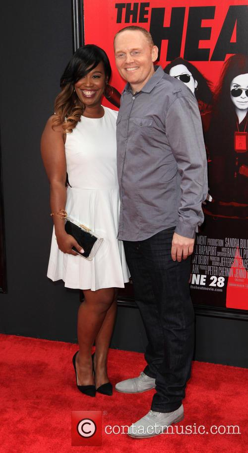 Bill Burr and Nia Renee Hill (fiance) 7