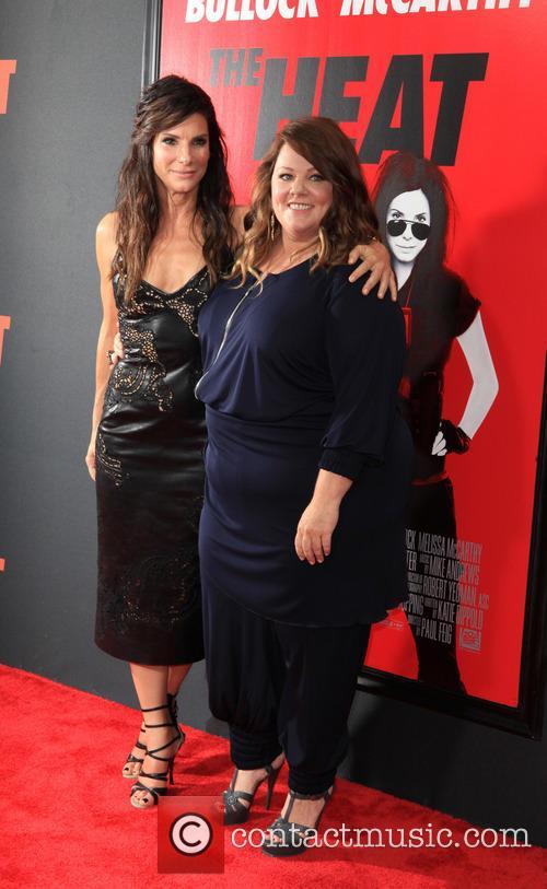 Sandra Bullock and Melissa McCarthy 34