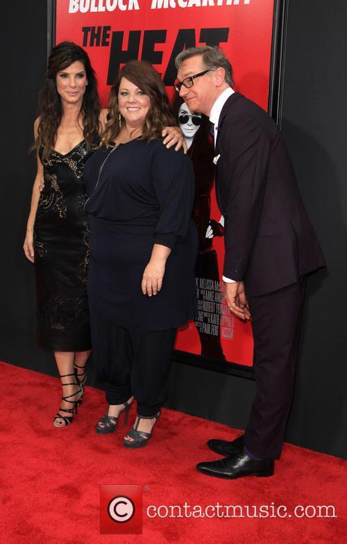 Sandra Bullock, Melissa McCarthy, Paul Feig, ziegfeld Theatre 141 West 54th Street, Ziegfeld Theater