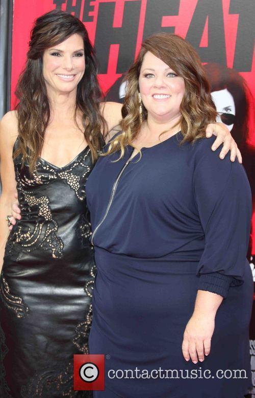 Sandra Bullock and Melissa McCarthy 7