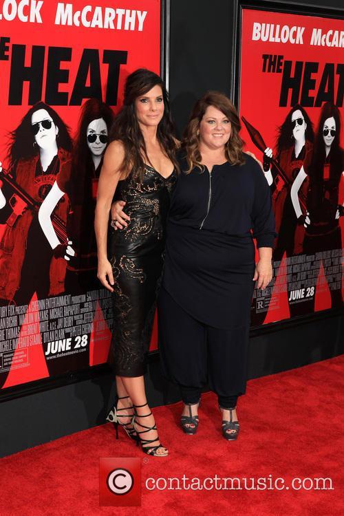 Sandra Bullock and Melissa McCarthy 9