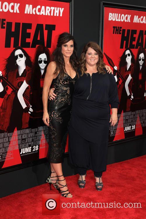 Sandra Bullock and Melissa McCarthy 15