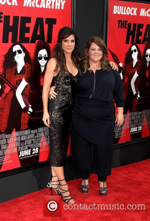 Sandra Bullock and Melissa McCarthy 16