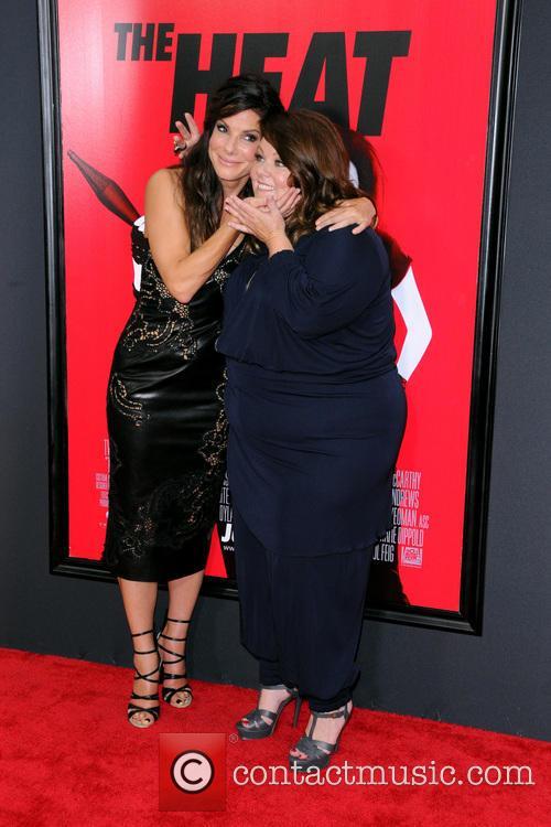 Sandra Bullock, Melissa McCarthy, Ziegfeld Theater