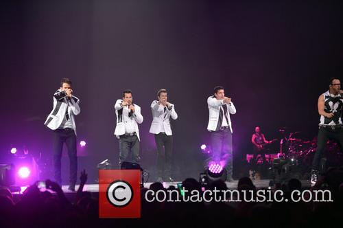 Donnie Wahlberg, Joey McIntyre, Jordan Knight, Jonathan Knight and Danny Wood 61
