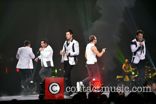 Donnie Wahlberg, Joey McIntyre, Jordan Knight, Jonathan Knight and Danny Wood 65