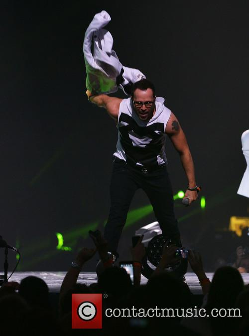 Donnie Wahlberg, BB and T Center