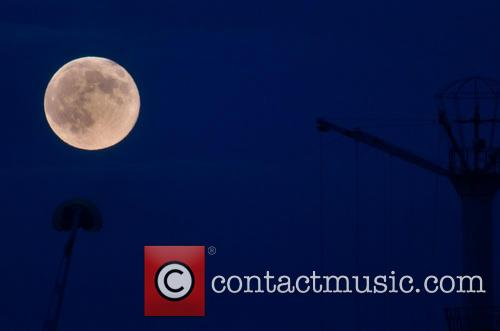 Supermoon Over Cleethorpes