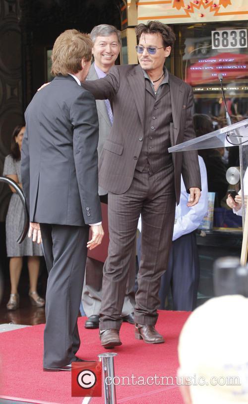 Jerry Bruckheimer and Johnny Depp 3