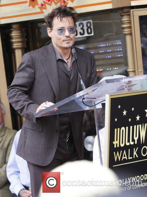 Johnny Depp, El Capitan Theatre