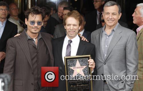 Johnny Depp, Jerry Bruckheimer, El Capitan Theatre