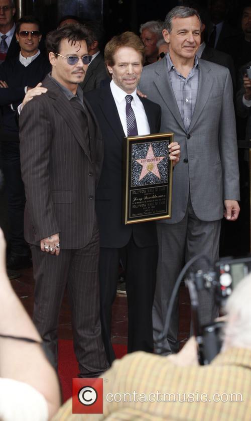 Johnny Depp and Jerry Bruckheimer 3