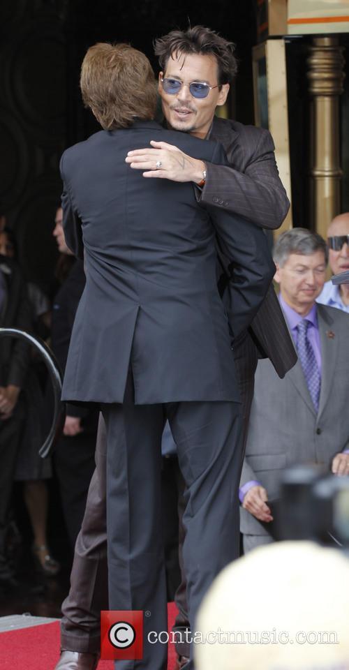 Johnny Depp and Jerry Bruckheimer 4