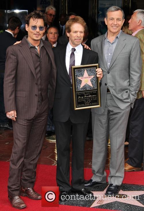 Johnny Depp and Jerry Bruckheimer 7