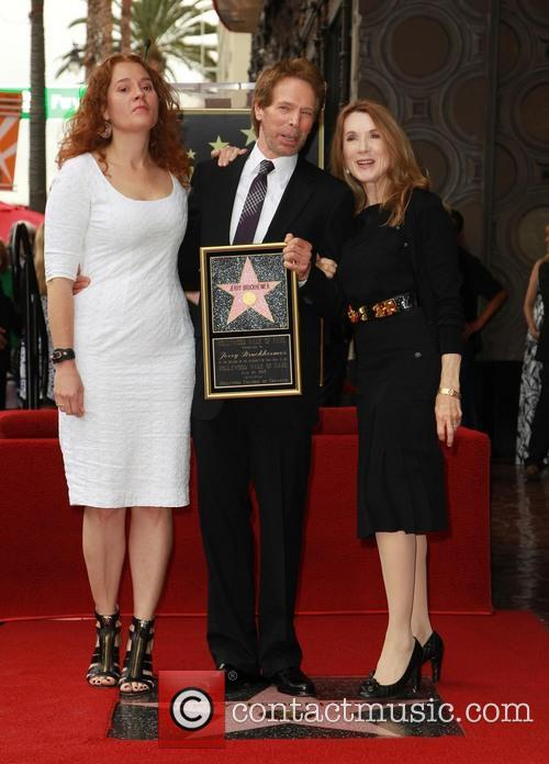 Jerry Bruckheimer Honored On The Hollywood Walk Of...