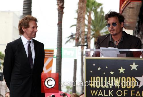 Jerry Bruckheimer and Johnny Depp 4