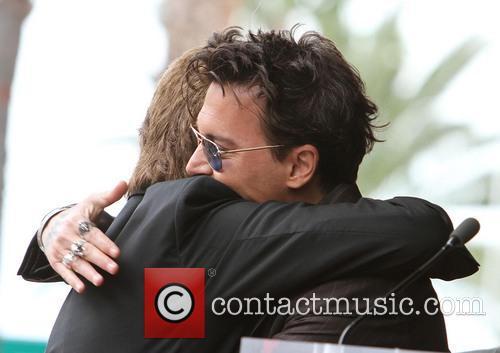 Jerry Bruckheimer, Johnny Depp, On The Hollywood Walk Of Fame