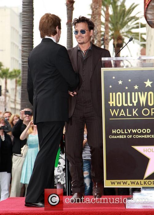 Jerry Bruckheimer and Johnny Depp 5