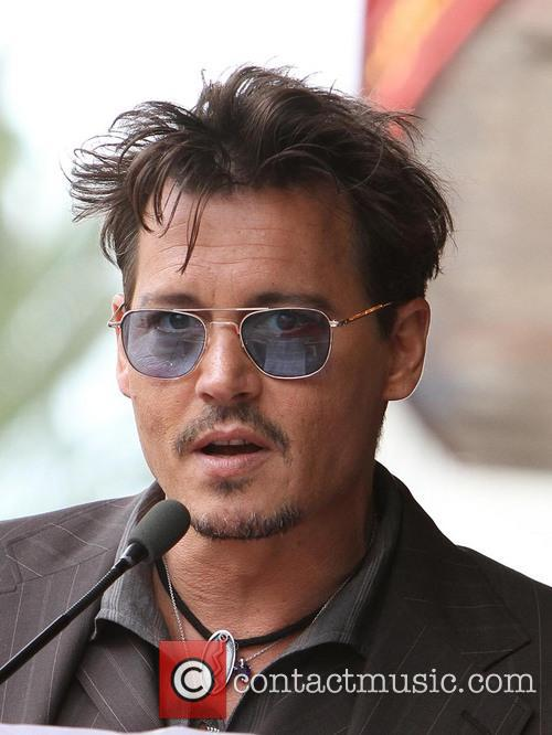 Johnny Depp, On The Hollywood Walk Of Fame