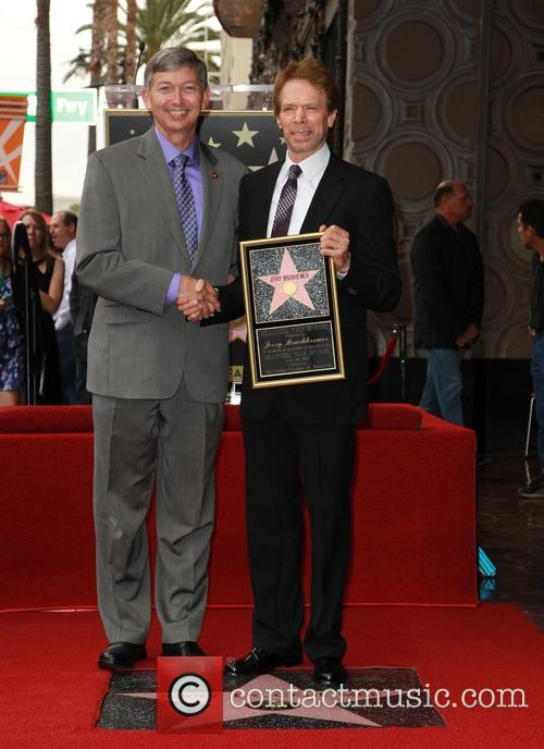 Leron Gubler and Jerry Bruckheimer 2