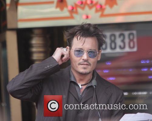 Johnny Depp HWoF