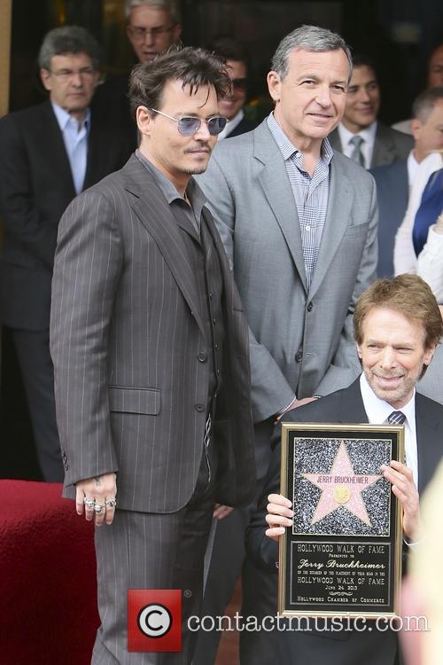 Johnny Depp and Jerry Bruckheimer 2