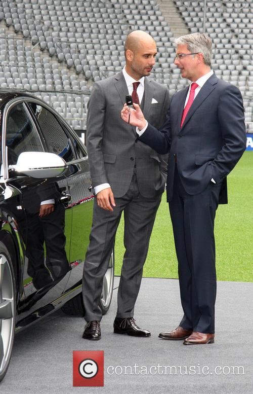 Bayern Munich FC welcomes new head coach Pep...