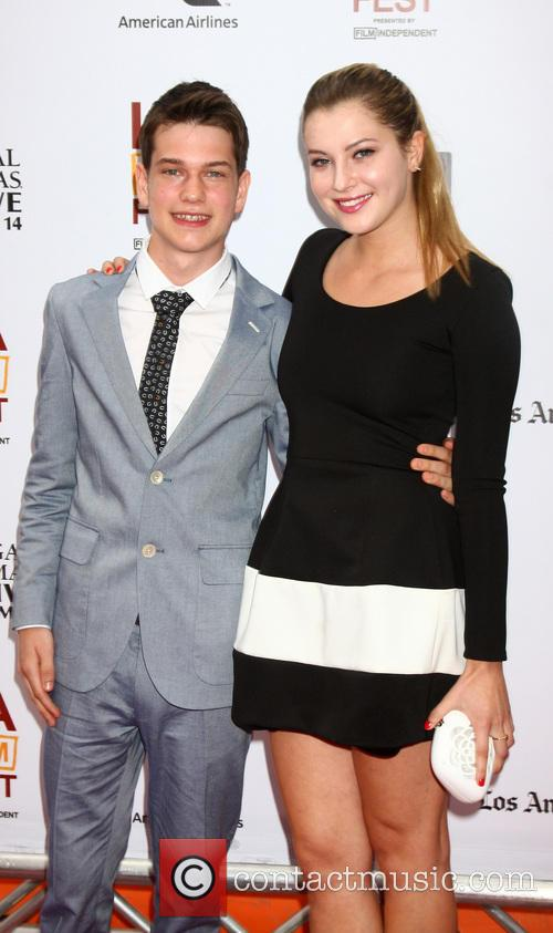 Liam James and Zoe Levin 1