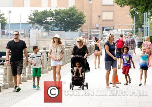 Heidi Klum, Martin Kristen, Heidi's children, Greenwich Village