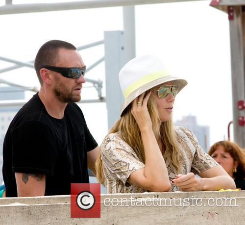 Heidi Klum, Martin Kristen, Greenwich Village