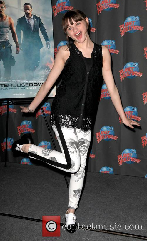 Joey King at Planet Hollywood