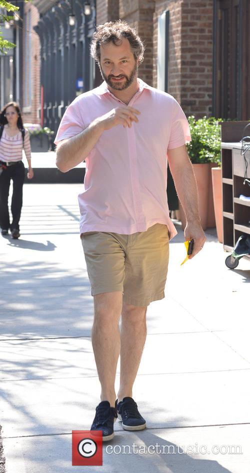 Judd Apatow In Manhattan