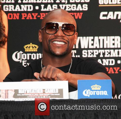 Floyd Mayweather, Duffy Square Times Square, Times Square