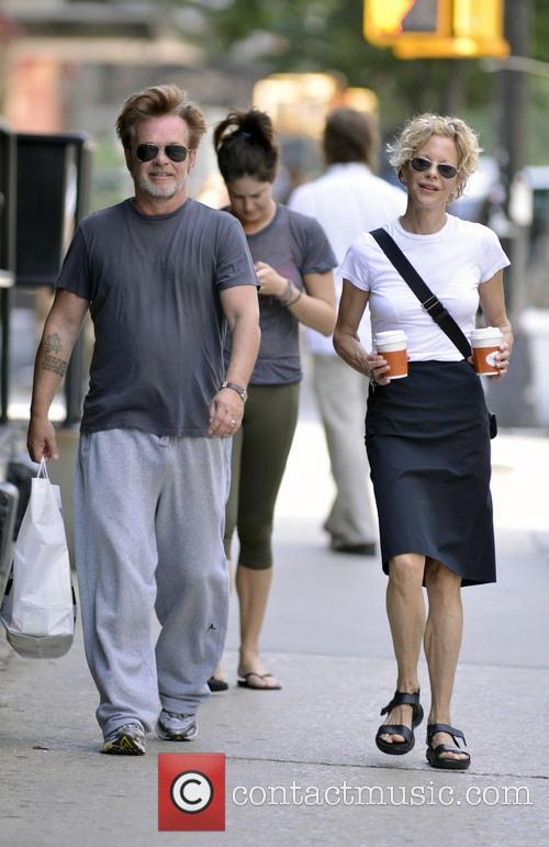 John Mellencamp and Meg Ryan 2