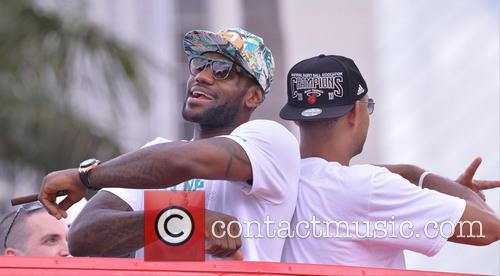 Lebron James and Juwan Howard 3