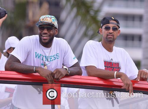 Lebron James and Juwan Howard 11